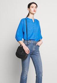 CLOSED - CHERRY - Button-down blouse - bluebird - 4