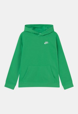 CLUB HOODIE  - Jersey con capucha - light green spark/white