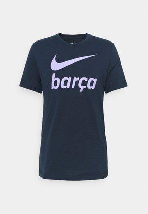 FC BARCELONA CLUB TEE - Squadra - obsidian