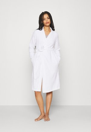TERRY BATHROBE  - Kylpytakki - white