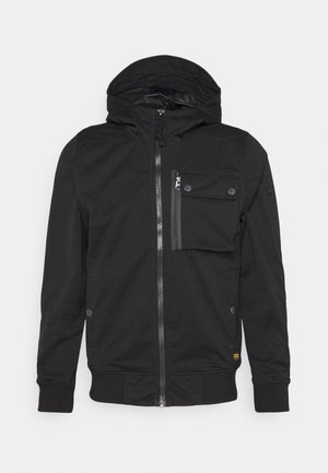 UTILITY   - Kurtka Outdoor - bonded black