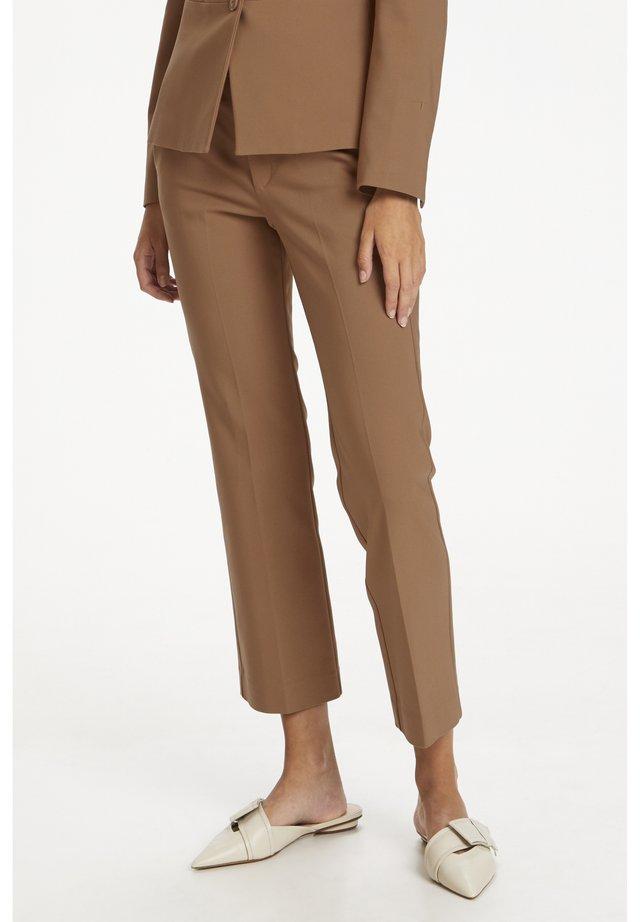 ZELLA  - Trousers - winter beige
