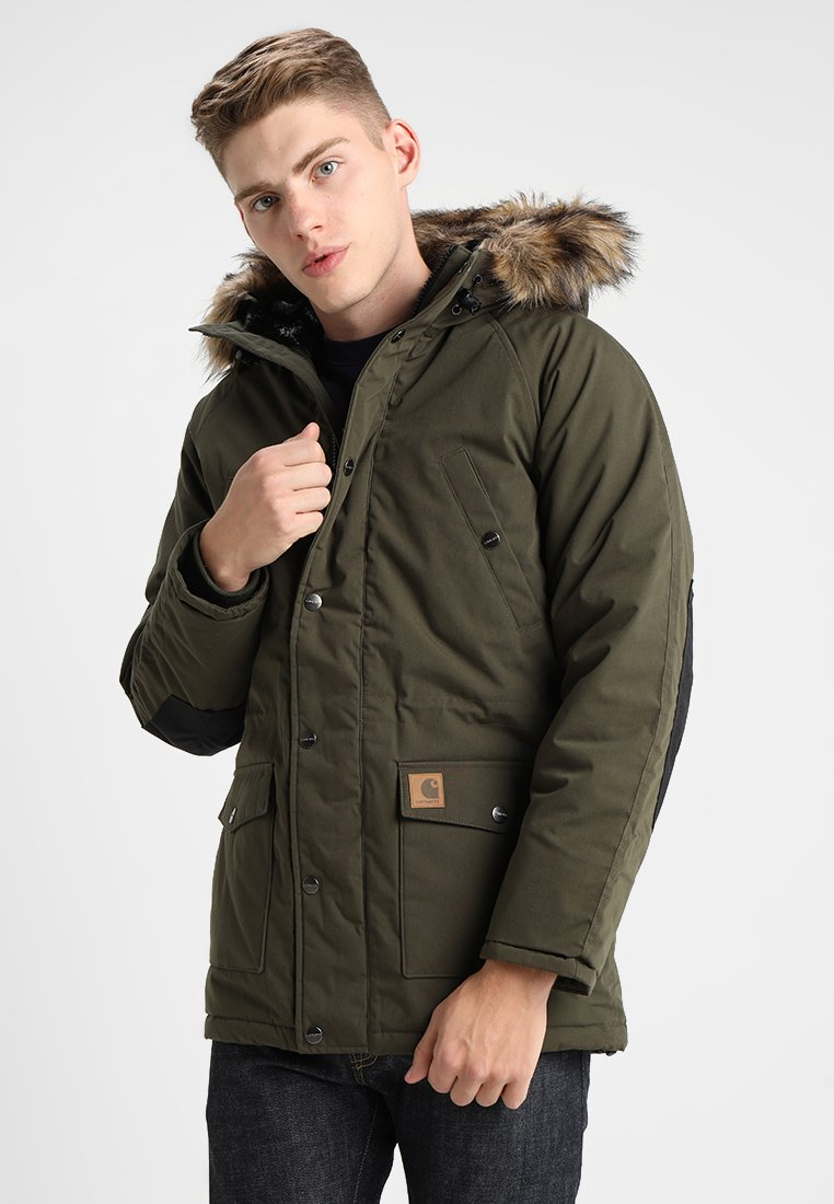 Carhartt WIP - TRAPPER - Winter coat - green
