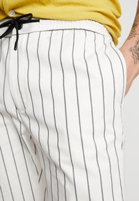 Topman - WHYATT - Trousers - cream - 3