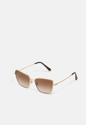 Sunglasses - gold-coloured