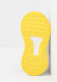 adidas Performance - RUNFALCON I UNISEX - Neutral running shoes - core black/shock yellow/footwear white - 5