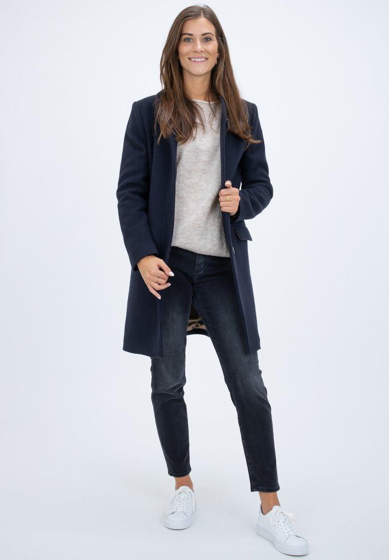 CLOSED - Classic coat - dark blue