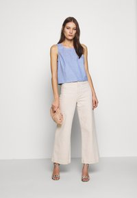 Banana Republic - SHELL - Blůza - chambray blue - 1