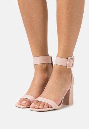 ELENNA - Sandals - dark beige
