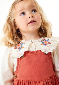 Next - BLOUSE AND PINAFORE SET  - Day dress - brown - 5