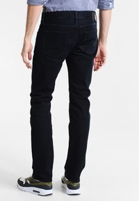 Tommy Hilfiger - DENTON - Straight leg jeans - blue black - 2
