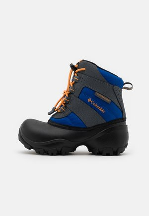 CHILDRENS ROPE TOW III WATERPROOF UNISEX - Zimní obuv - azul/orange blast