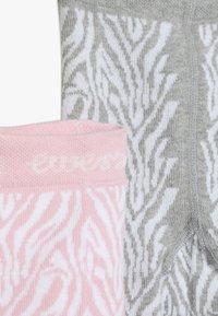 Ewers - ZEBRA 2 PACK - Tights - grau/rosa - 4
