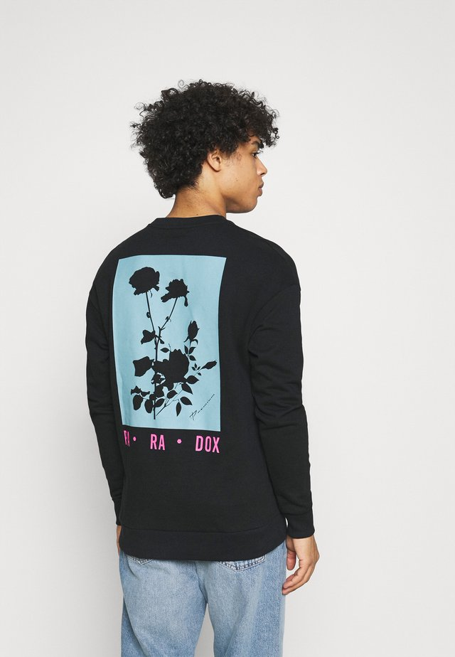 JPRBLA PARADOX CREW NECK - Sweatshirt - black
