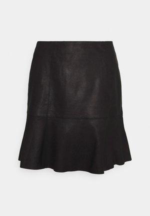 YASCOLLY NAPLON SKIRT - Minijupe - black