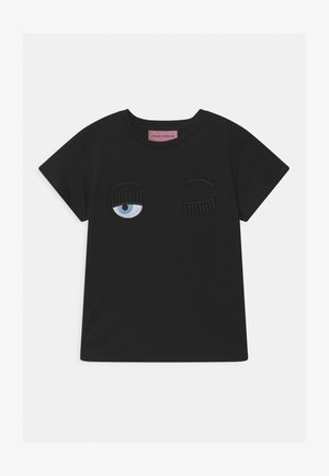 KIDS FLIRTING - Print T-shirt - black