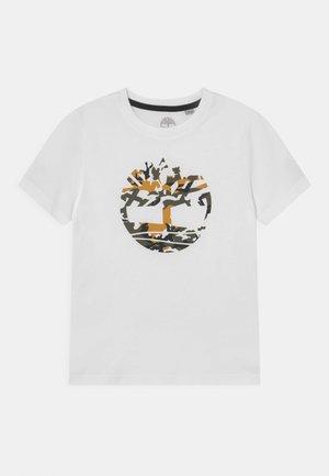 SHORT SLEEVES TEE - Print T-shirt - white