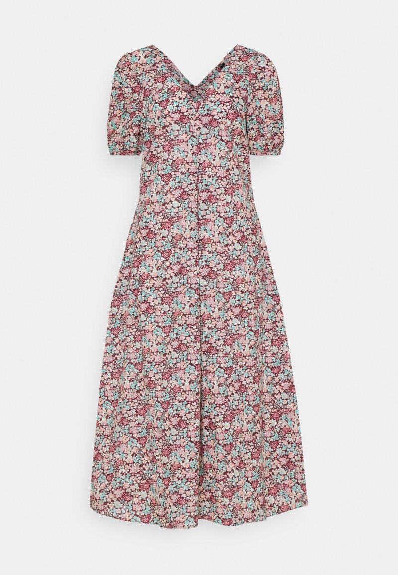 YAS - YASTULIA DRESS - Day dress - rosewood/tulia