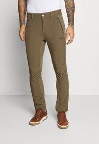 Jack Wolfskin - ZENON PANTS MEN - Pantalones montañeros largos - granite - 0
