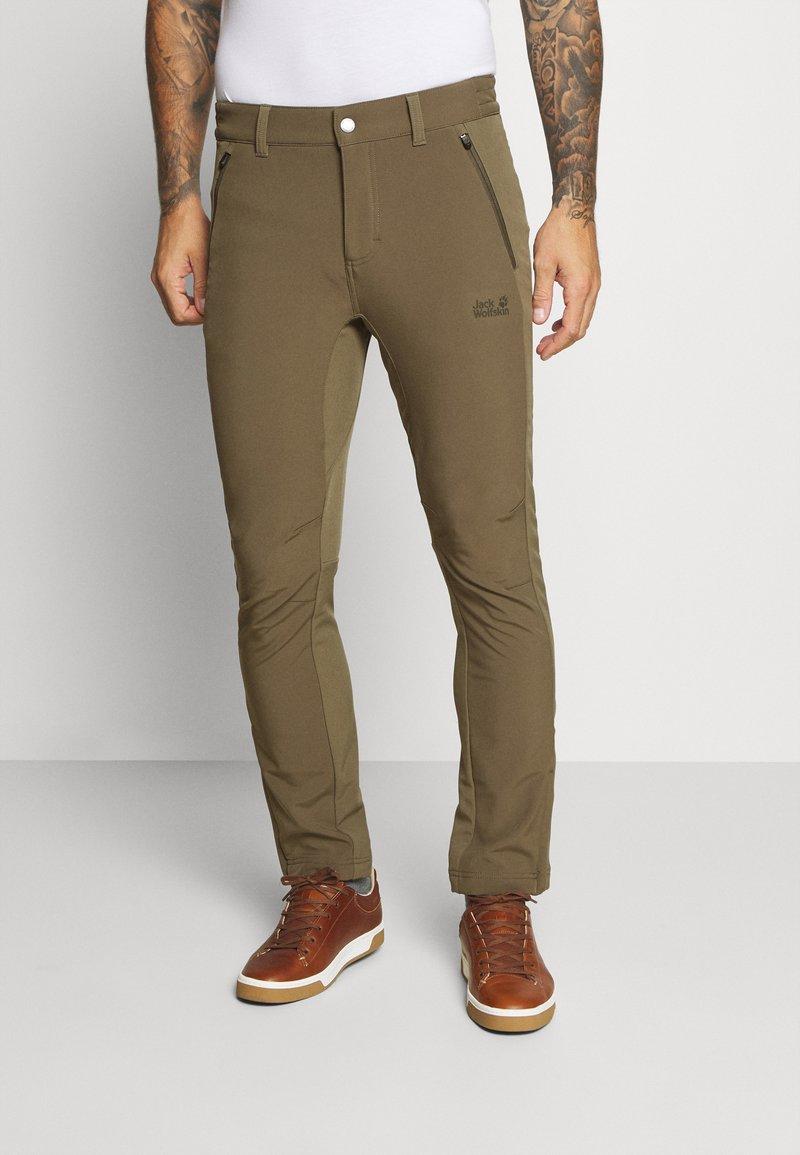 Jack Wolfskin - ZENON PANTS MEN - Pantalons outdoor - granite