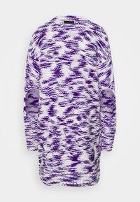 Diesel - Jumper dress - purple/white - 1