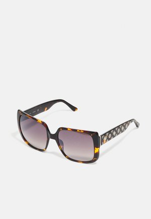 Sunglasses - dark havana/brown mirror