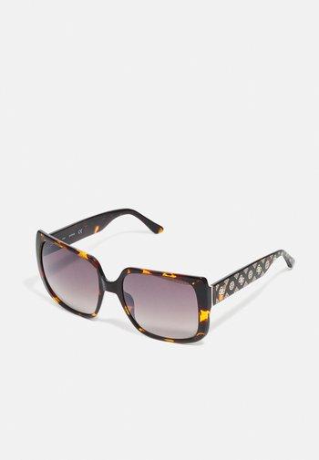 Sunglasses - dark havana/brown mirror
