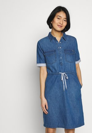 Day dress - blue denim