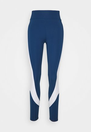 Tights - white/dark blue