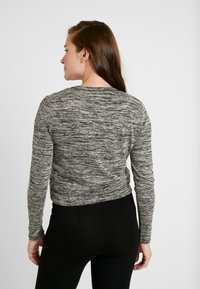 Cotton On - MATERNITY CROSS OVER FRONT LONG SLEEVE - Jumper - black - 0