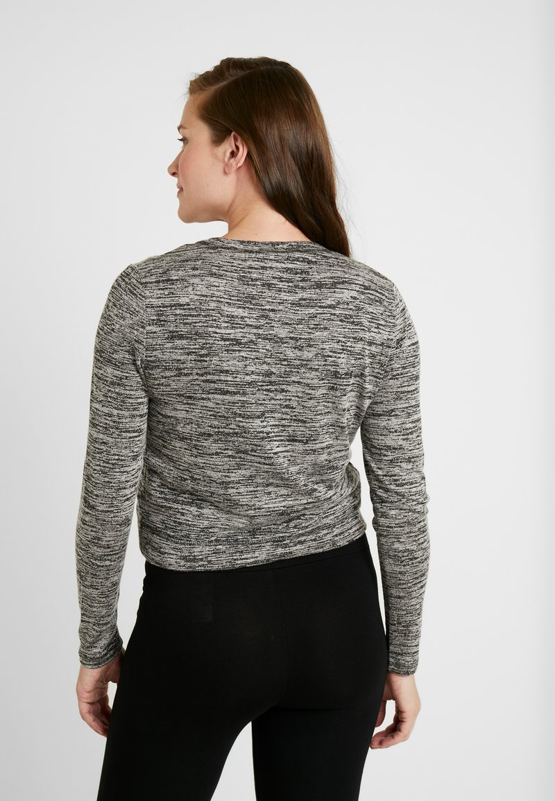 Cotton On - MATERNITY CROSS OVER FRONT LONG SLEEVE - Jumper - black