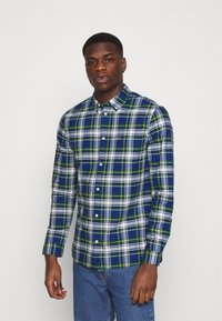 Tommy Jeans - OXFORD CHECK - Camicia - providence blue/multi - 0