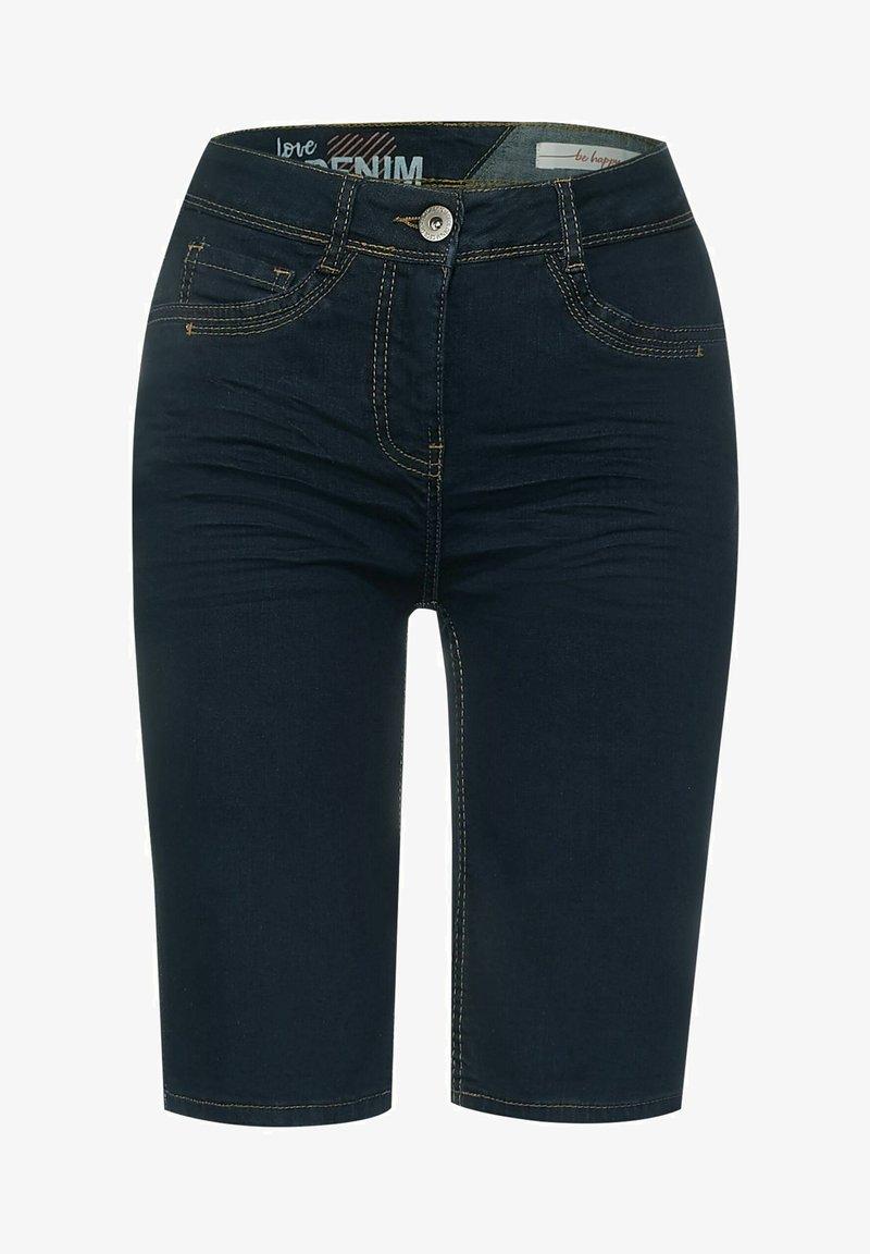 Cecil - Denim shorts - blau