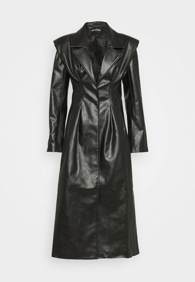 DIAMOND COAT - Prochowiec - black