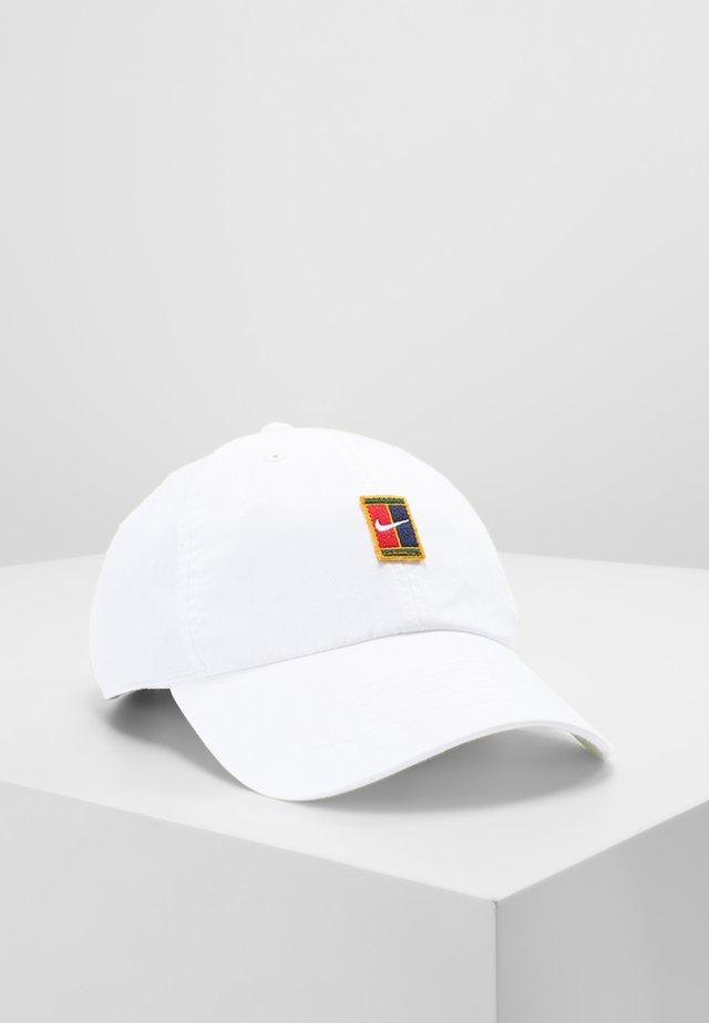 COURT LOGO UNISEX - Caps - white