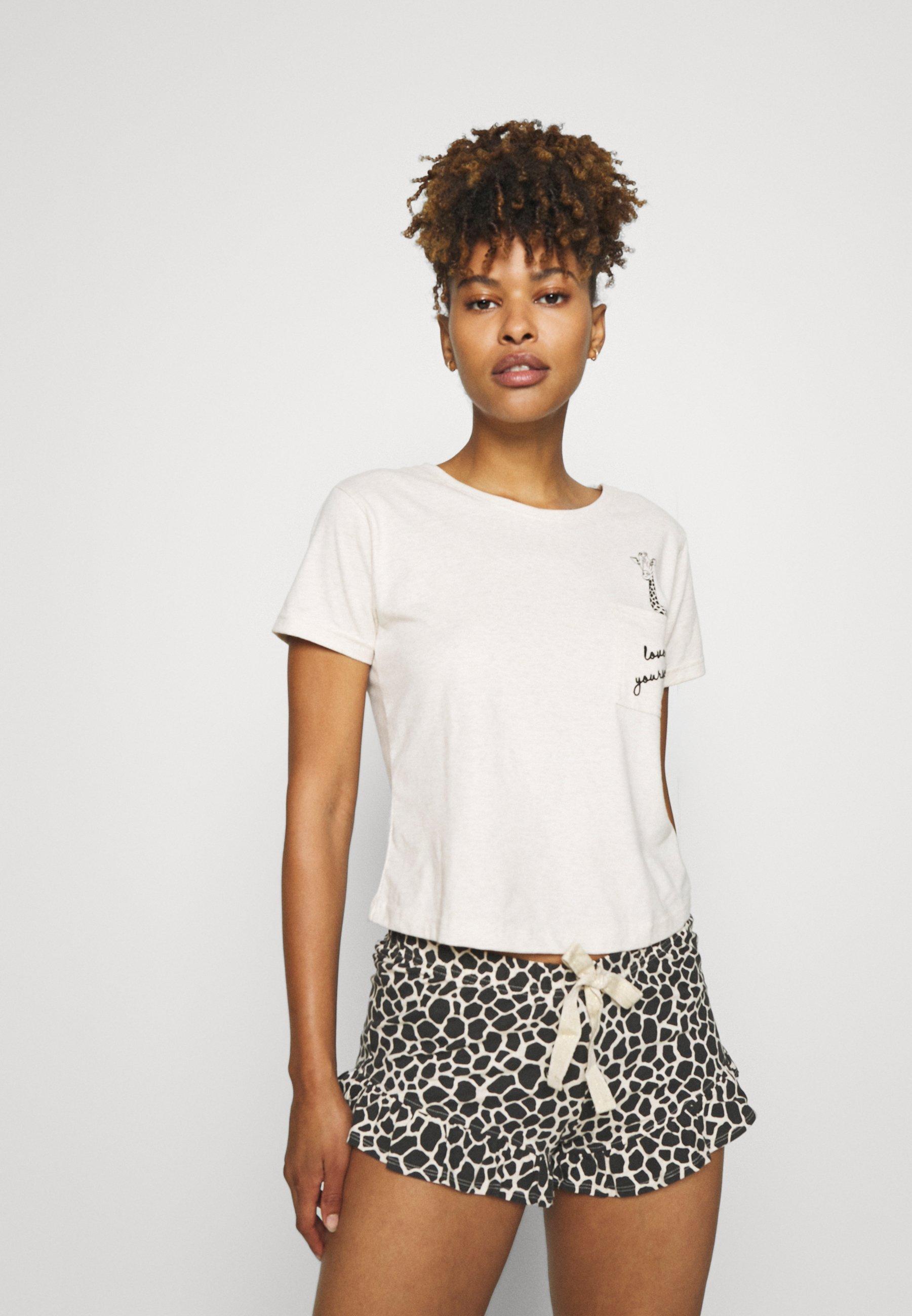 Damen GIRAFFE POCKET TEE - Pyjama