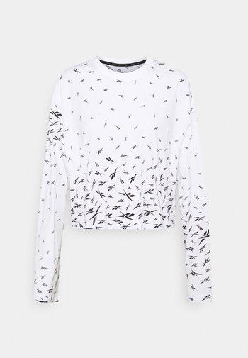 VECTOR LONG SLEEVE - T-shirt à manches longues - white