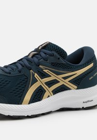 ASICS - GEL CONTEND 7 - Neutral running shoes - french blue/champagne - 5