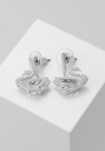 DANCING SWAN - Boucles d'oreilles - white