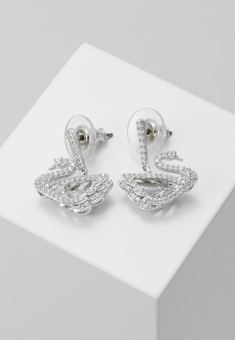 Swarovski - DANCING SWAN - Earrings - white