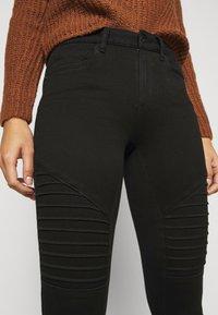 ONLY Petite - ONLROYAL BIKER - Jeans Skinny Fit - black - 5