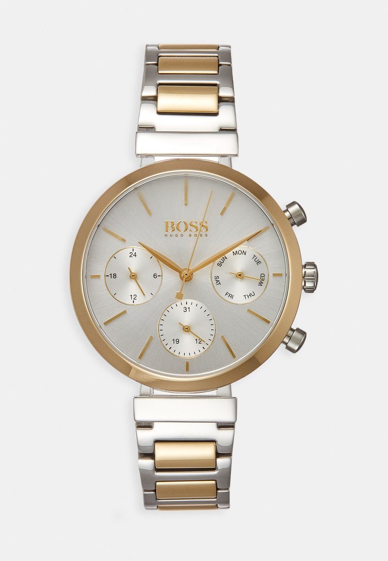 BOSS - FLAWLESS - Watch - silver-coloured/gold-coloured