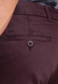 Pier One - Shorts - bordeaux - 3