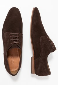Zign - Smart lace-ups - dark brown - 1