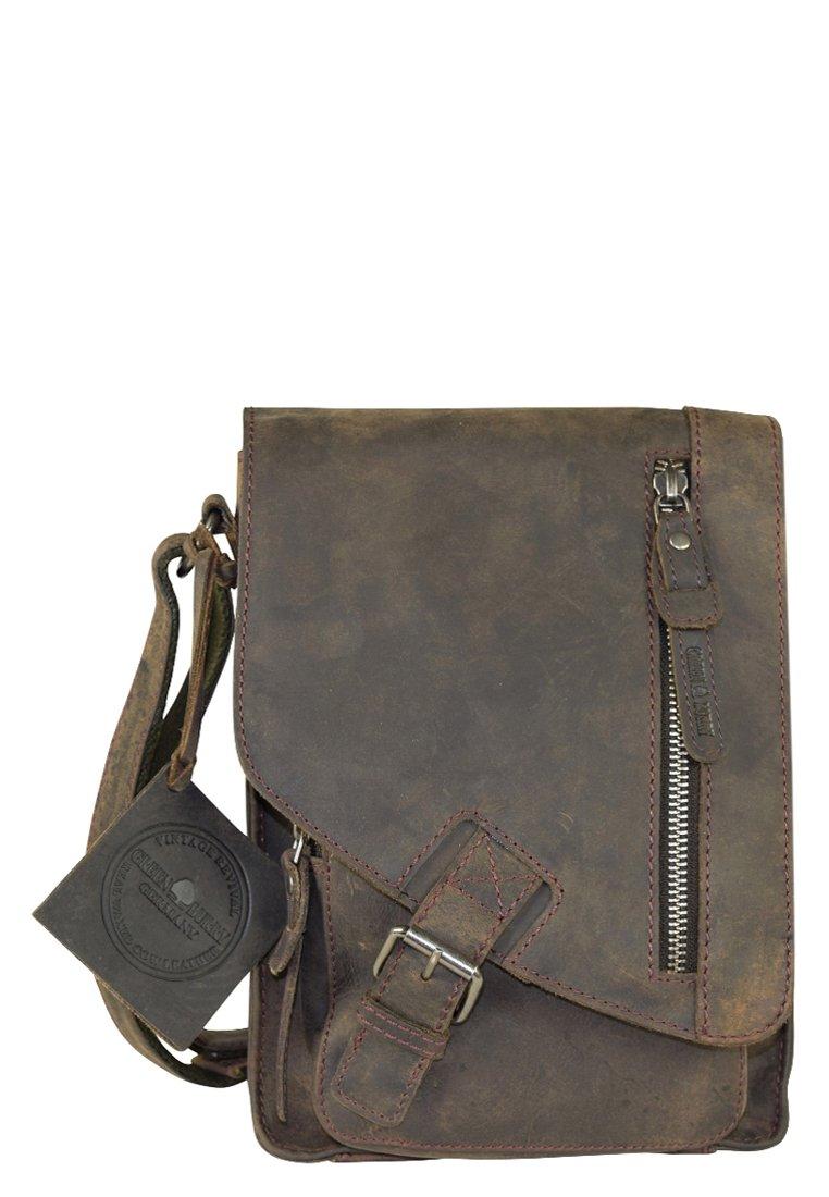 Greenburry - VINTAGE REVIVAL - Across body bag - charcoal