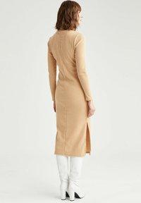 DeFacto - Jumper dress - beige - 2