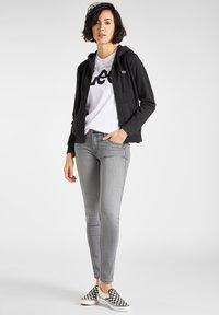 Lee - Zip-up sweatshirt - black - 1