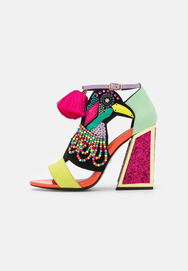 AYA - Sandály na vysokém podpatku - pride aya/multibrights