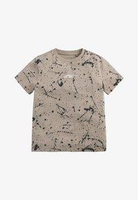 Next - Print T-shirt - stone - 0
