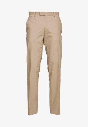 TORDON - Suit trousers - dark sand